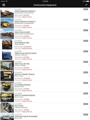 Скриншот из AuctionTime