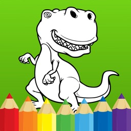 Best coloring book : Dinosaurs
