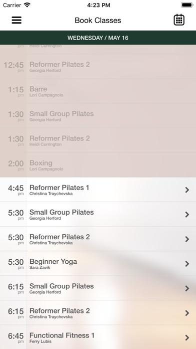 Downtown Yoga & Pilates screenshot three