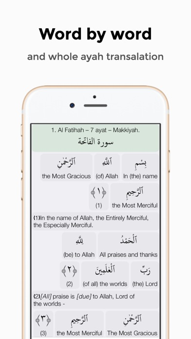 Quran Word by Word screenshot two
