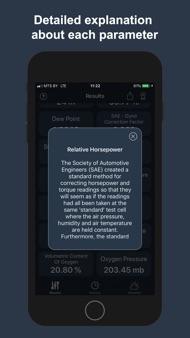 Air Density & Altitude: AirLab iphone images