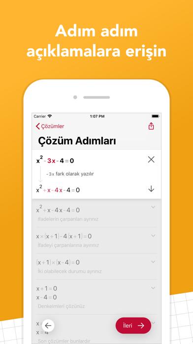 Screenshot for Photomath in Turkey App Store