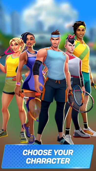 Tennis Clash: Fun Sports Games screenshot 4