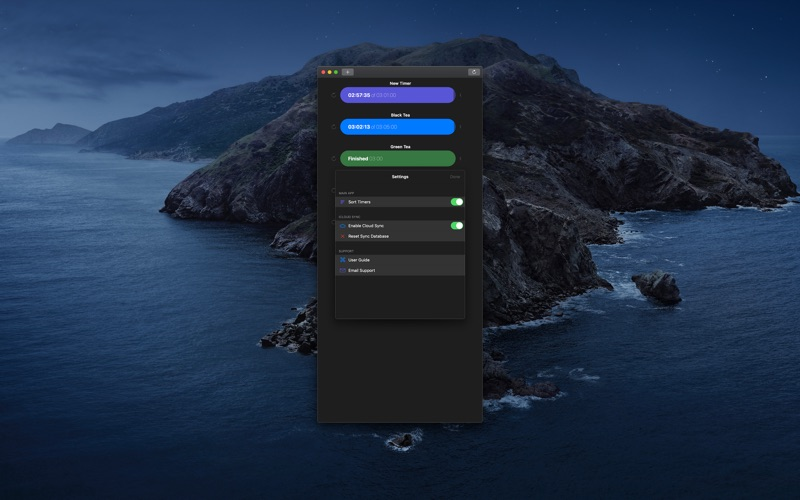 Tidur Timers for Mac