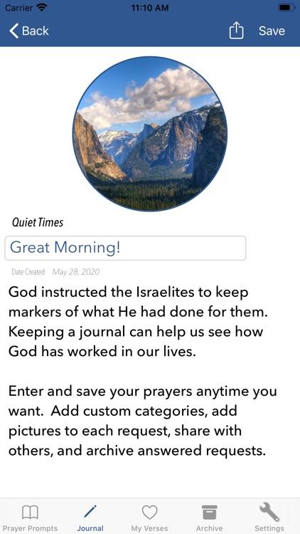 Prayer Prompts Journal screenshot-6