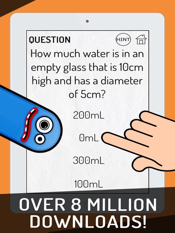 iPad Image of Stupid Test!