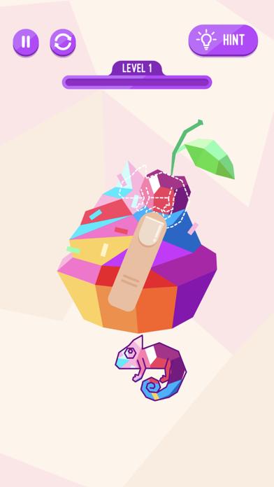 Chameleon Puzzle Game screenshot 1