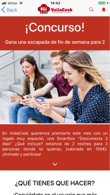 VoilaCook-Recetas de Cocina screenshot-3