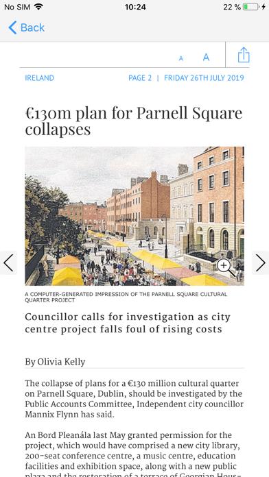 The Irish Times ePaper Screenshot