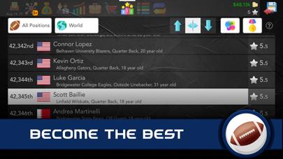 Football Superstar: US Edition screenshot 10