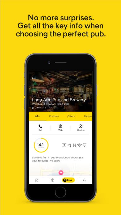 MatchPint | Sport & Pubs by MatchPint Ltd (iOS, United
