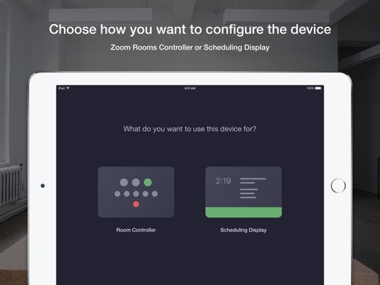 iPad Image of Zoom Rooms