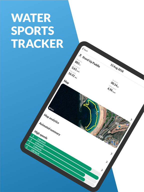 Watersports Tracker screenshot