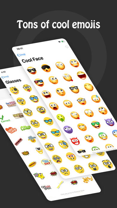 messages.download Fonts & Big Emojis for iPhones software