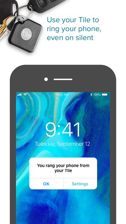Tile - Find lost keys & phone screenshot-3