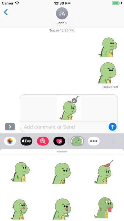 Green Dinosaur screenshot-3