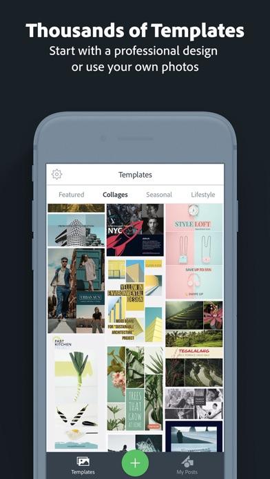 Adobe Spark Post Screenshot