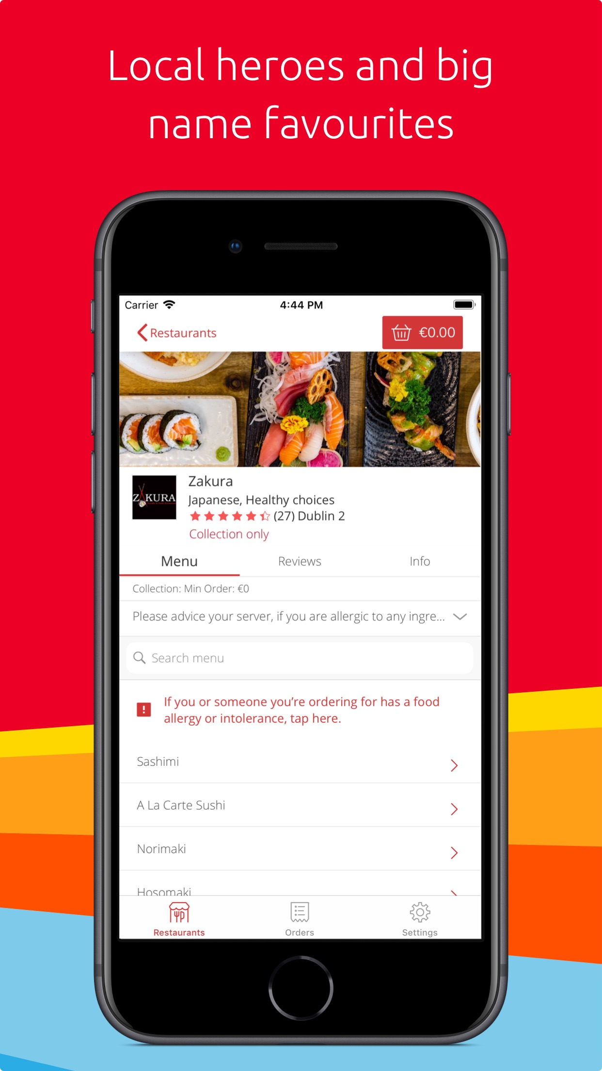 Just Eat - Food Delivery Screenshot