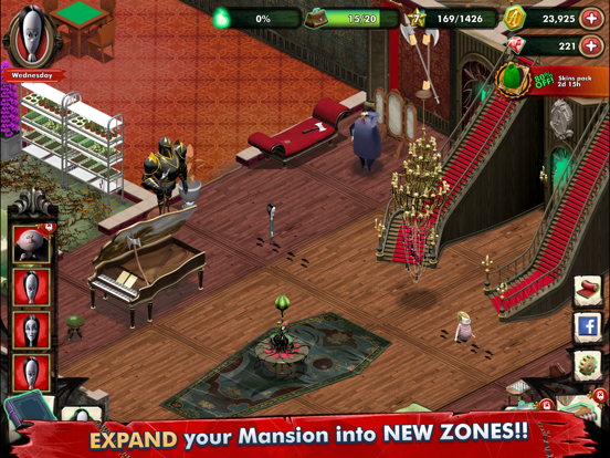 Addams Family Mystery Mansion screenshot 9