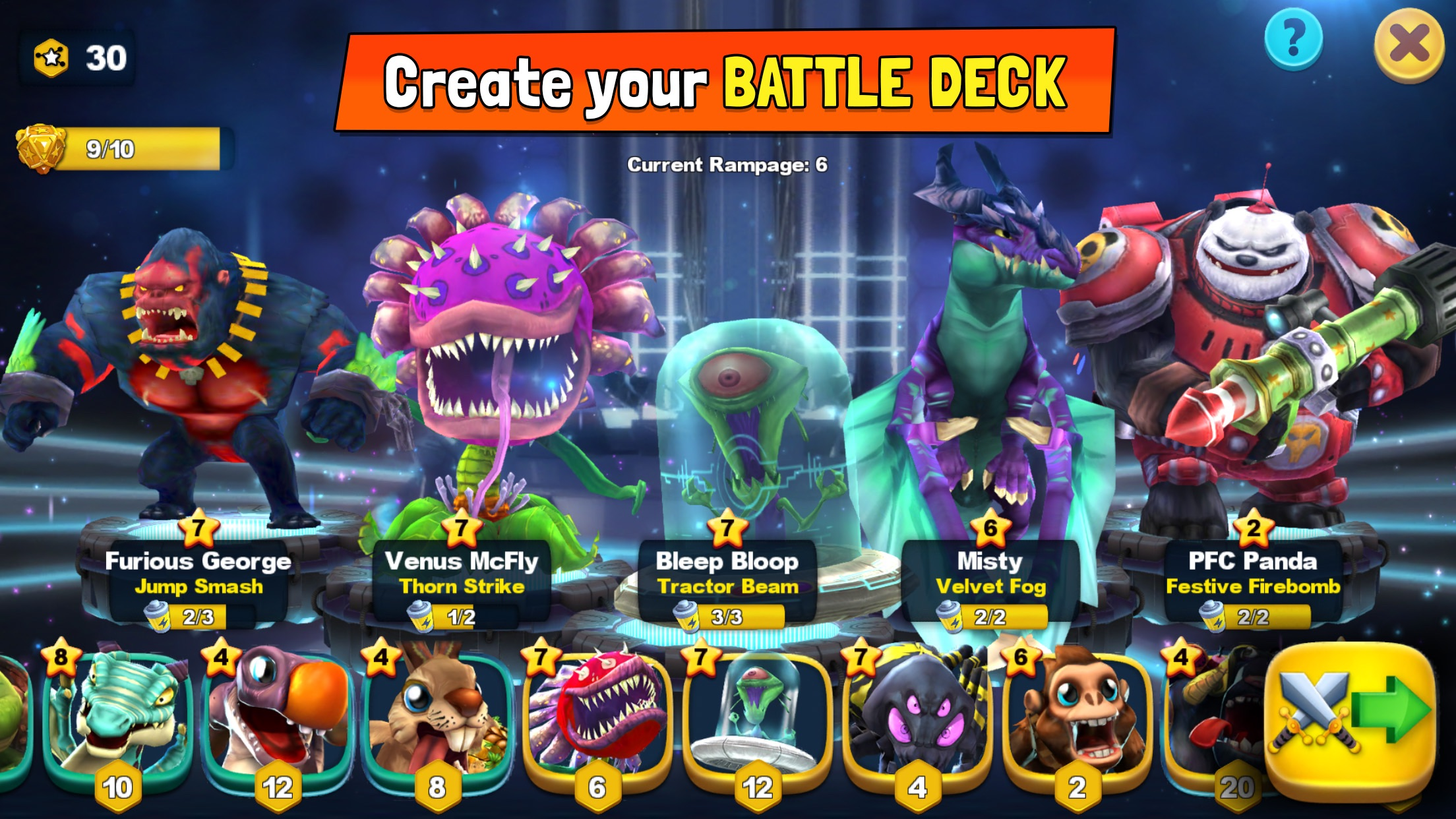 MonstroCity: Rampage Screenshot