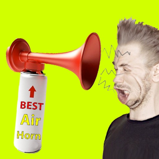 Real Air Horn Loudest Sound