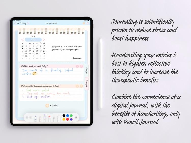 Pencil Journal - Digital Diary