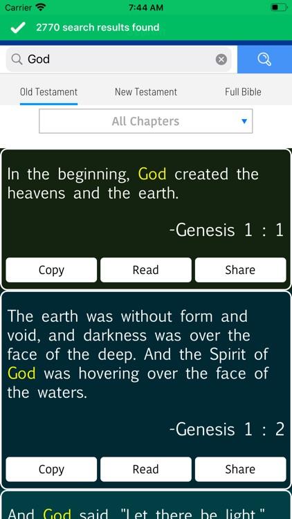 Holy Bible in Russian screenshot-8