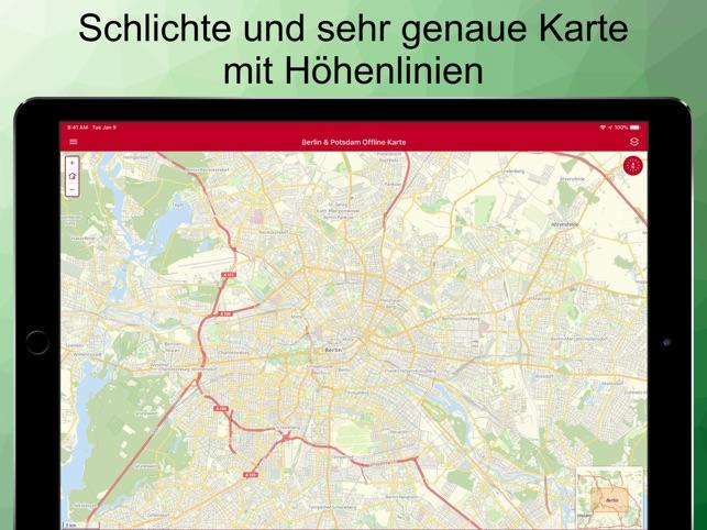 Berlin Potsdam Karte.Berlin Potsdam Offline Karte