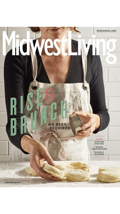 Midwest Living Magazine Screenshot