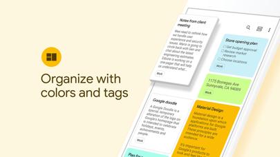 Google Keep - Notes and lists Screenshot