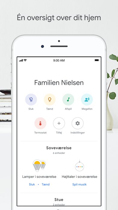 Screenshot for Google Home in Denmark App Store