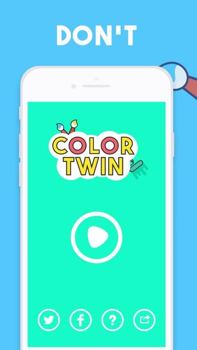 Screenshot #1 pour Color Twin