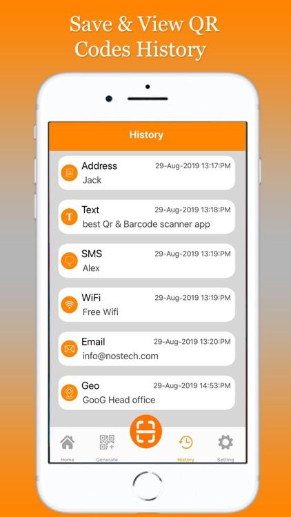 QR Code Scanner Barcode Reader screenshot-4