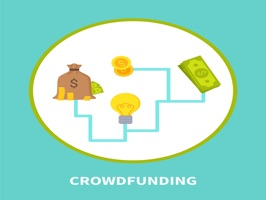 The CrowdfundingPTA is a small sticker, which are show the 40 Crowdfunding PTA sticker in cartoon