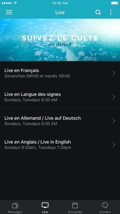 Screenshot #2 pour La Porte Ouverte Chrétienne