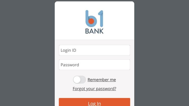B1Bank Mobile Banking screenshot-3