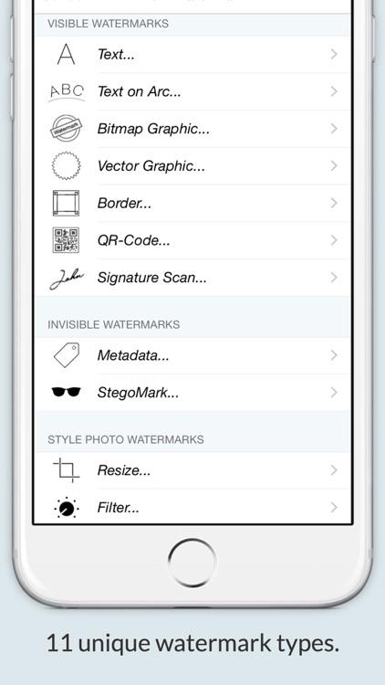 Watermark With iWatermark+