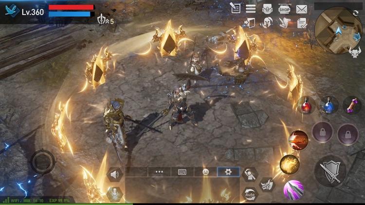 Lineage2 Revolution screenshot-4