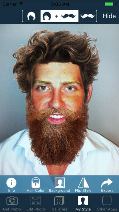 Hair and Beard Styles PROのおすすめ画像1