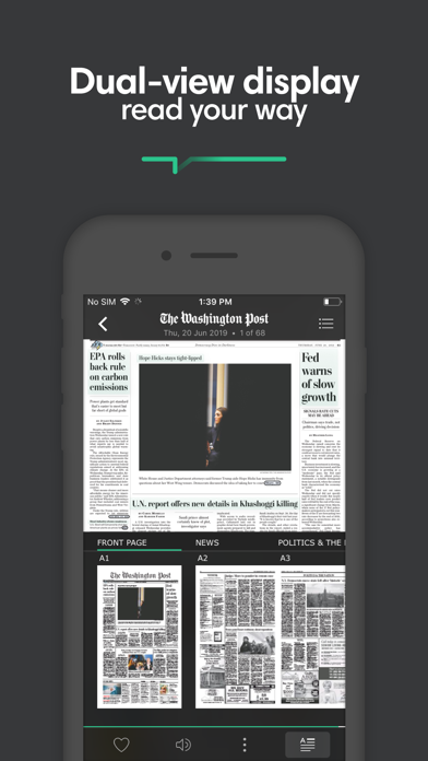 Screenshot for PressReader in Canada App Store
