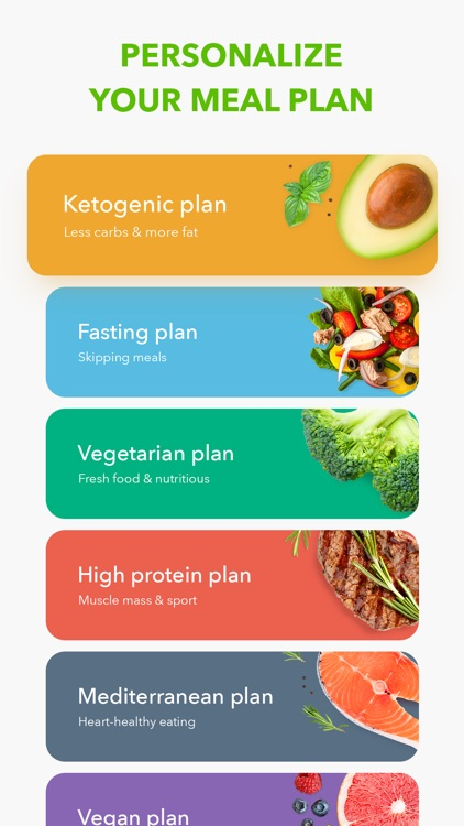 Diet by GetFit: Meal Planner