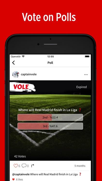 VOLE - Sports Social Network screenshot-3