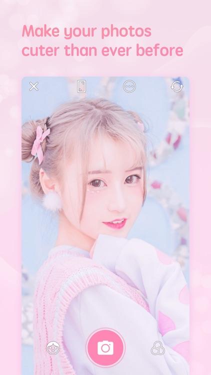 Girlscam – 甜趣少女风修图相机 screenshot-0