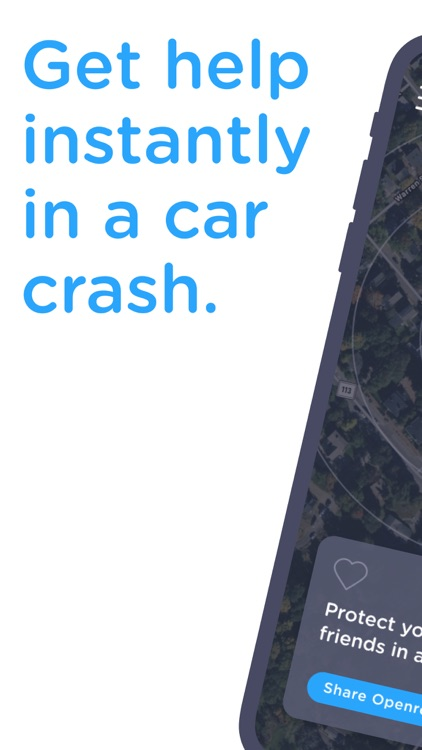 Openroad: Help in a Car Crash