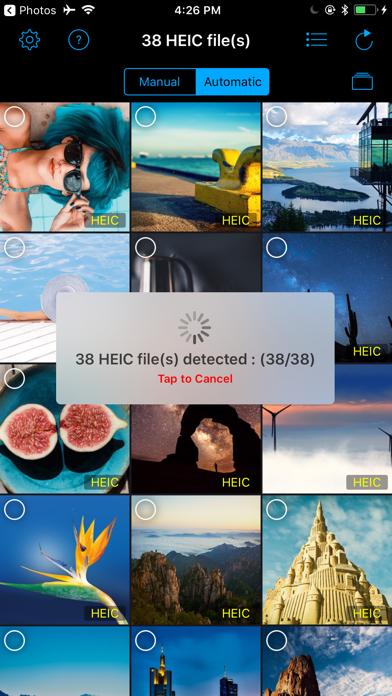 Heic Converter 2 JPG, PNG Screenshots
