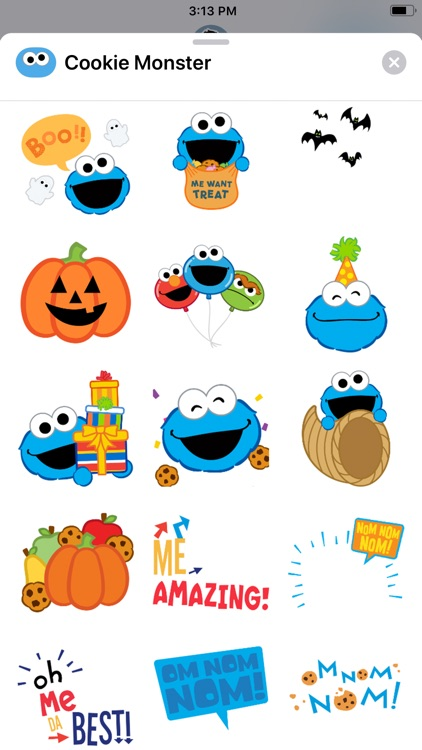 Cookie Monster Stickers screenshot-4