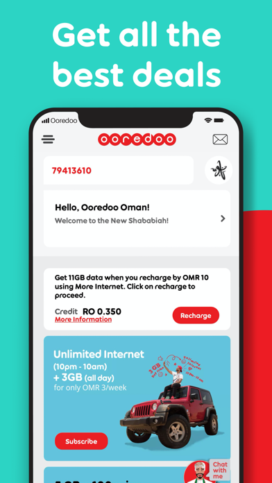 Ooredoo Oman By Nawras Ios United States Searchman App Data