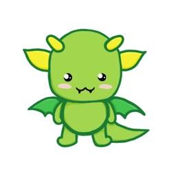 Baby Dragon Sticker Pack
