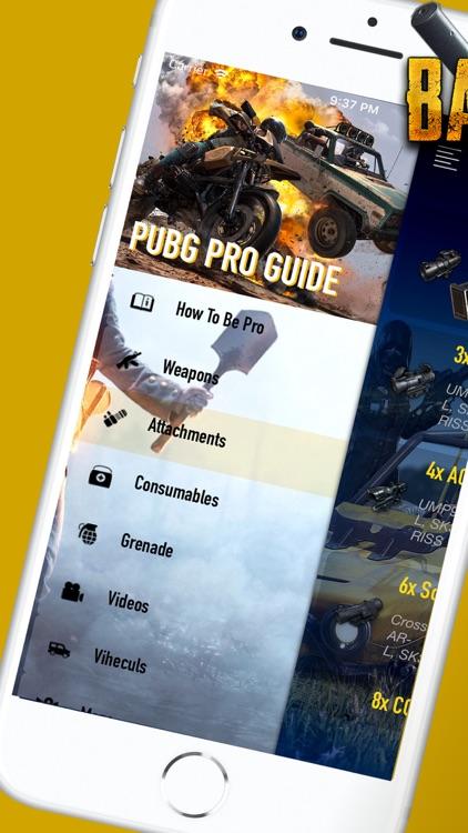 Pro PUBG Guide: MOBILE-PC-PS4 screenshot-6
