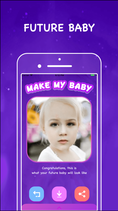 Make my baby: Baby Time Screenshot